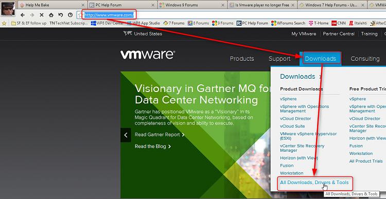 vmware machine for windows 7 64 bit