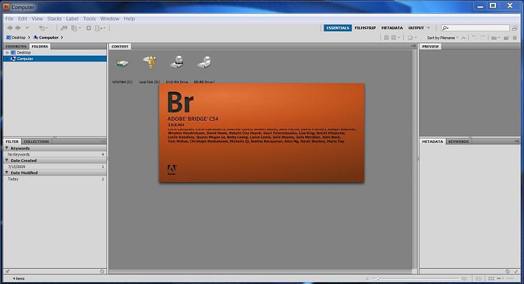 Adobe Bridge CS4 will not open-adobe-bridge-cs4.jpg