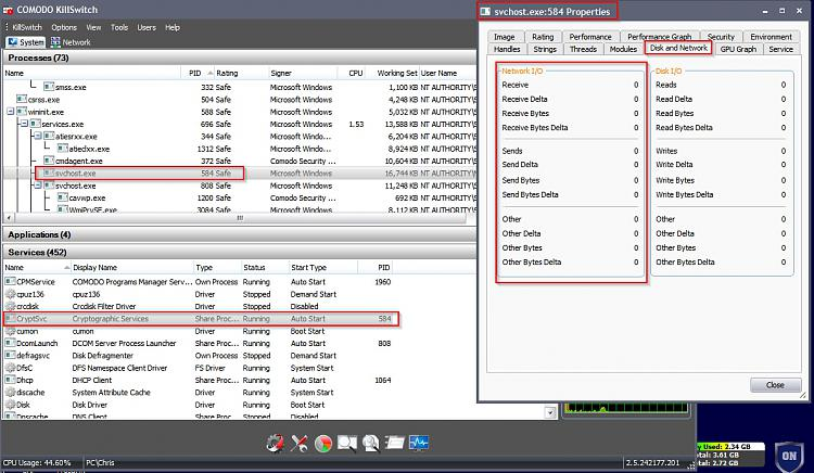 Windows 7 x64 CryptSvc under Svchost uploading data-cks.jpg