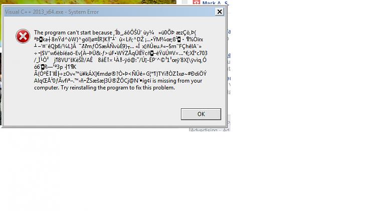 Microsoft Visual C++ Redistributable Difficulties-error-msg.png