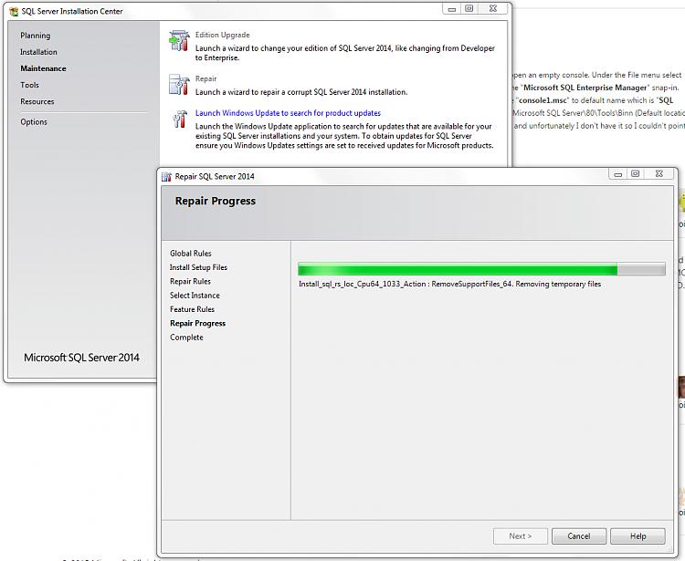 MSSQL server express, cant take ownership of windows/temp-sqlserver7.png