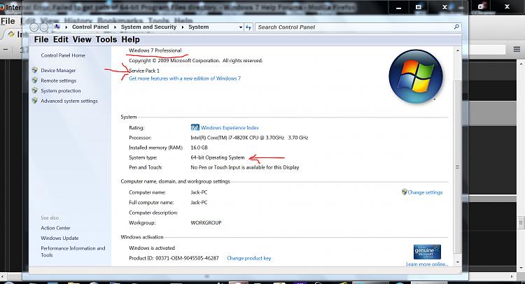 Internal Error: Failed to get path of 64-bit Program Files directory.-windows-key-plus-pause-key.png
