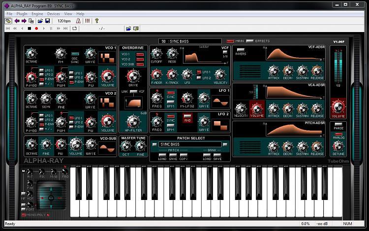 Keyboard Synthesizer Software