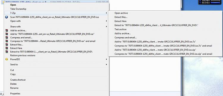 The right-click context menu and 7-Zip-2009-05-07_021751.jpg