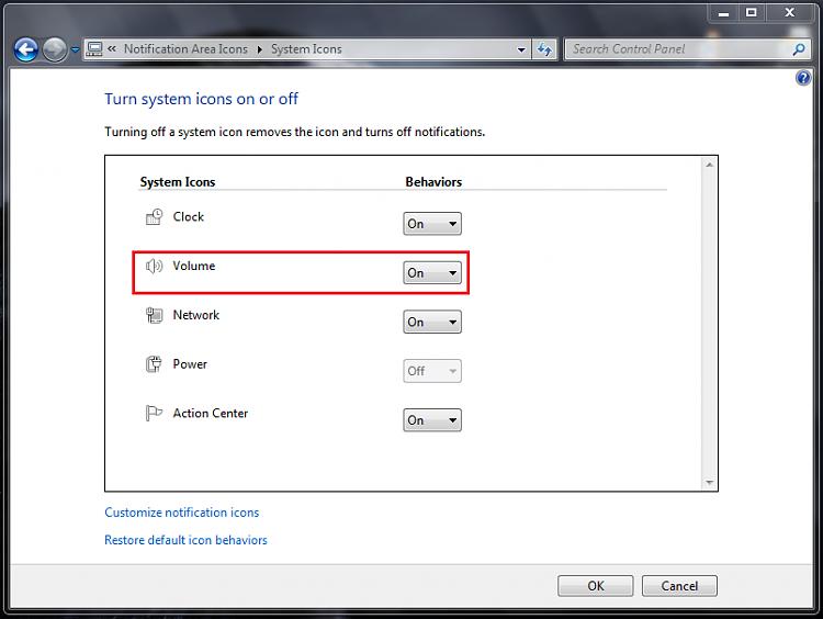 Speaker icon missing Windows 7-step-3.png