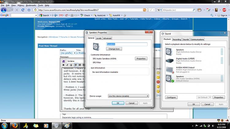 SRS SandBox Problems on HP HDX 16t, running Windows7 RC-srs_audio_sandbox_speaker_settings.png
