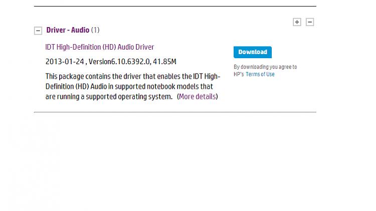 IDT High Definition Audio CODEC crash-driver.png