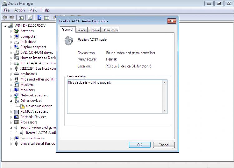 intel 82801 DB/DBM AC'97 audio controler problem-2.png