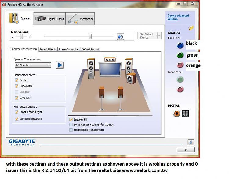 realtek sound driver  for windows 7