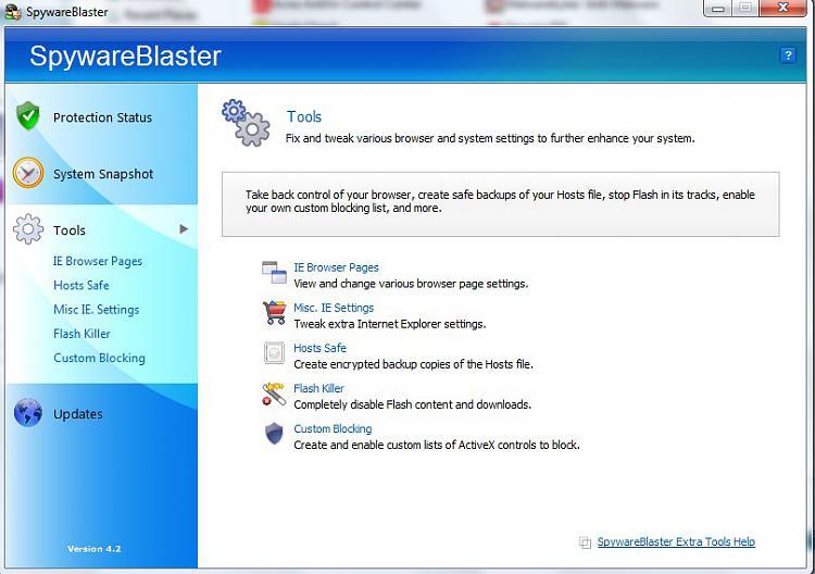 Multiple spyware programs-spywareblaster-tools.jpg