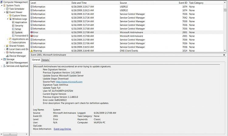 Microsoft Security Essentials Problems/Troubleshooting-microsoft-security-essentials-update-failure.jpg