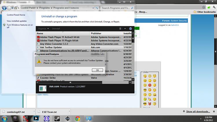 Need help removing Happili redirect virus-ask-toolbar.png