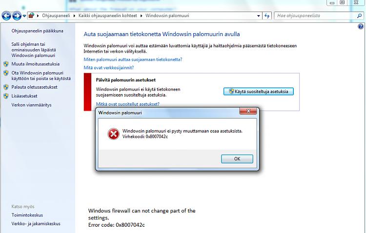 I can't use my Windows firewall, because of the error 0x8007042c-nimetoen.png