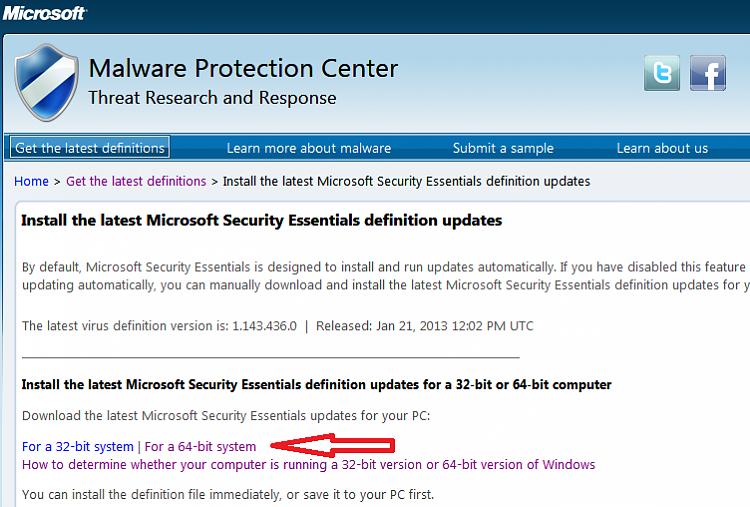 microsoft security essentials definition download 32 bit