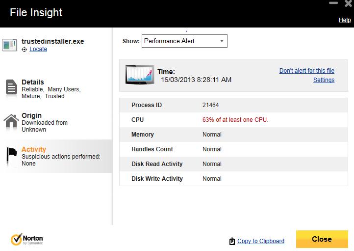 Norton Flagging Windows folders and high CPU usage-module-installer.png