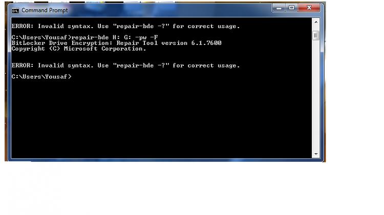 BitLocker Password - Windows 7 Help Forums