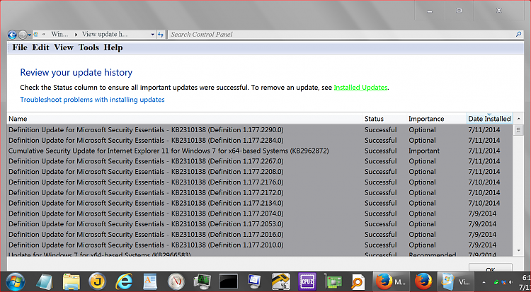 Manually Update Microsoft Security Essentials Virus