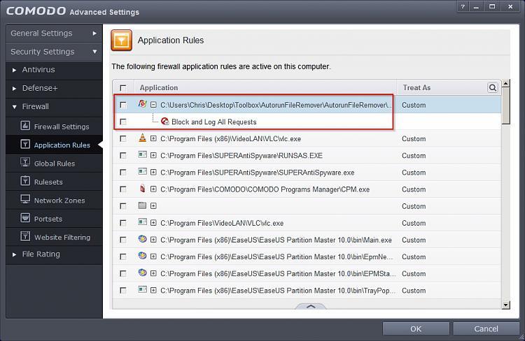 Sygate Personal Firewall alternative?-comodo-advanced-settings.jpg
