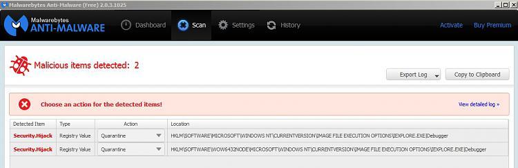 Latest Version of Malwarebytes-malwarebytes-anti-malware-free-2.0.3-results.jpg