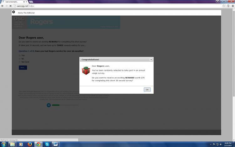 "Getting redirected to ""fake"" windows error links-reaccuring-virus.jpg"