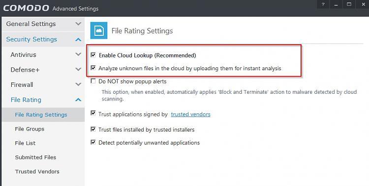 Non-cloud free anti-virus programs?-comodo-advanced-settings.jpg