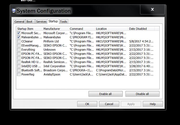 Laptop is having lagging trouble.-capturestart-up.png