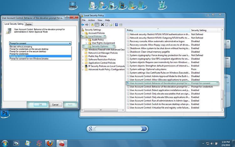 UAC control password prompt - Windows 7 Help Forums