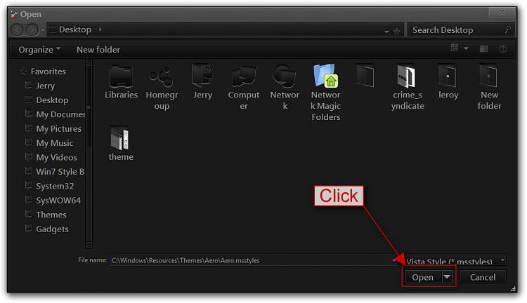 Edit Folder Windows Colors - Custom Win7 Themes-open.png