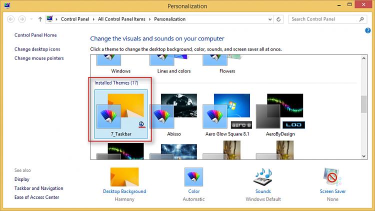 Giving windows 7's taskbar border for windows 8-personalization.png