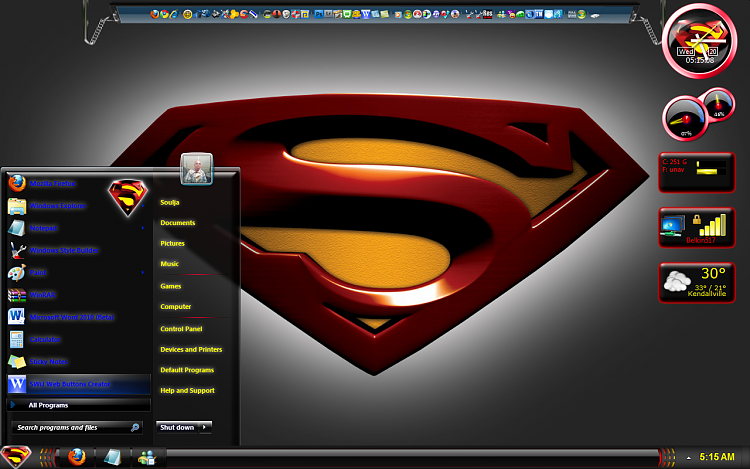 superman desktop theme windows 8 interior design 3d