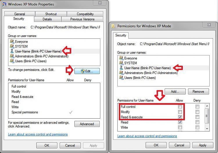 Windows XP Mode - Install and Setup-permissions.jpg