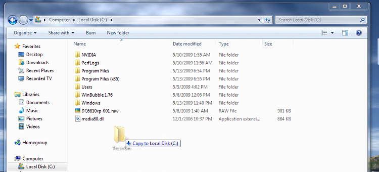 Recycle Bin - Pin to Taskbar-drag-drop-new-folder.png