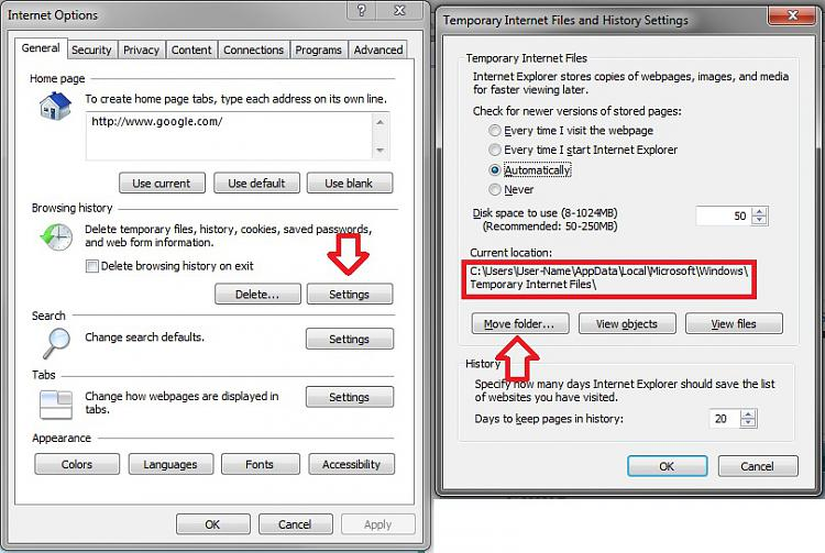 User Profile - Change Default Location-internet_options.jpg