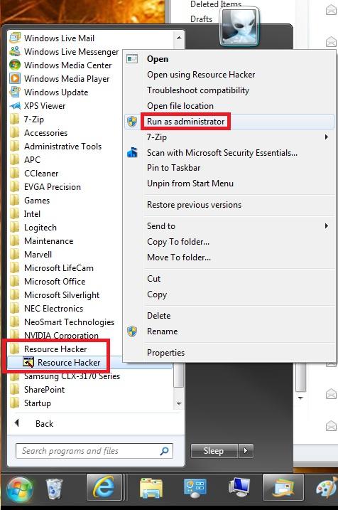 Shutting down... Text Message - Change-start_menu.jpg