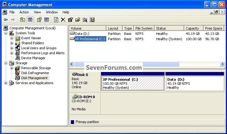 Clean Install Windows 7 : Ahead of XP-xpstart.jpg
