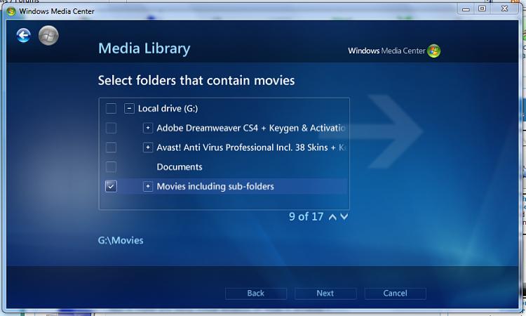 Media Center- Setup Movie Library-5-media-center-select-folder-.png