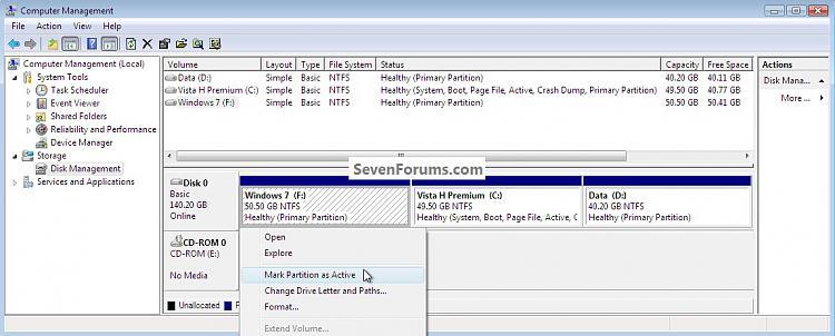 Clean Install Windows 7 : Ahead of Vista-activemark.jpg