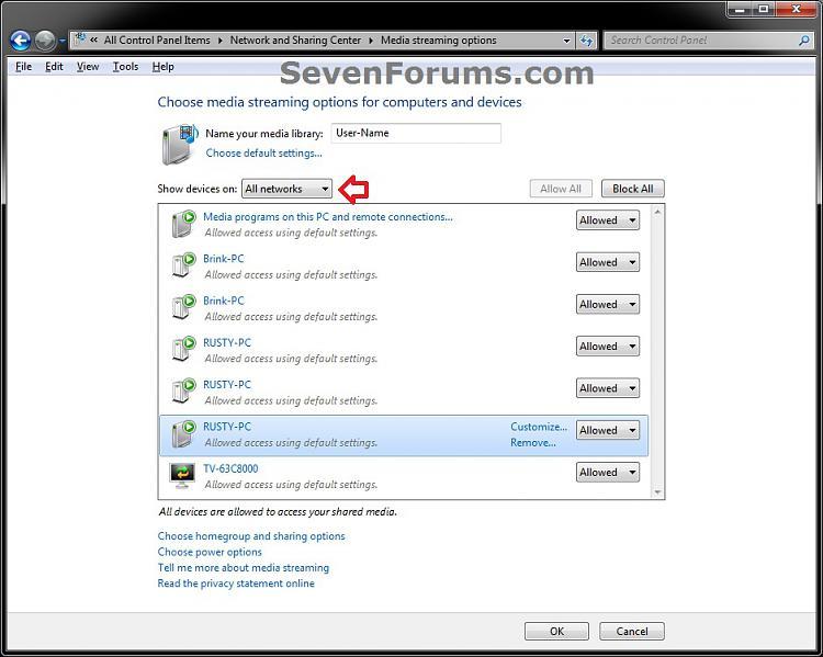 Media Streaming Using Windows Media Player - Turn On or Off-network_step4-b.jpg