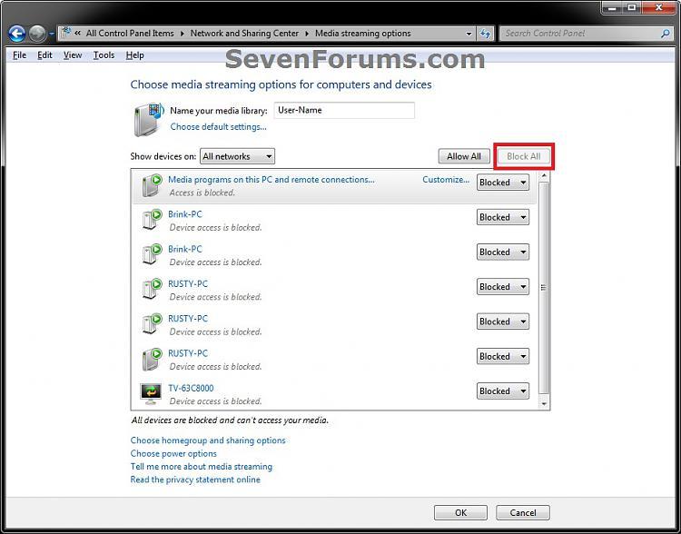 Media Streaming Using Windows Media Player - Turn On or Off-turn_off.jpg