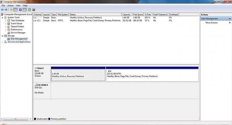 System Reserved : Create Using Disk Management-disk-management.png