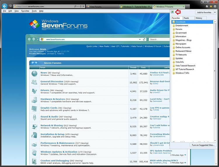 Internet Explorer Favorites Center - Pin and Unpin to Left Side-pin.jpg