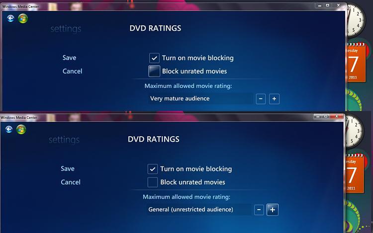Windows Media Center Parental Controls - Setup and Use-seven-par.jpg