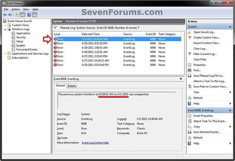 Shut Down - View Details of Last Shutdown of Computer-unexpected-2.jpg