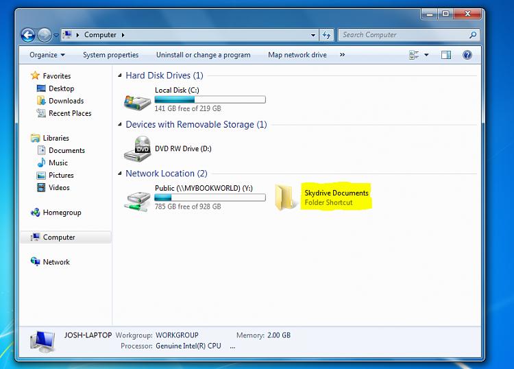 Windows Live SkyDrive - Map Drive-folder.png