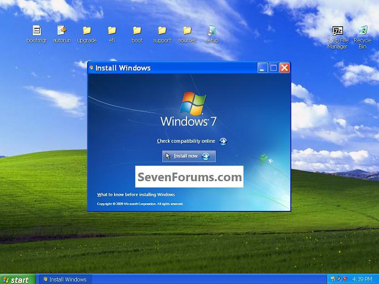 Clean Install Windows 7 from the Windows XP Desktop-install.jpg