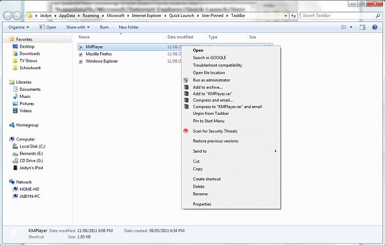 Taskbar Pinned Icons - Change-screenshotstep3.png