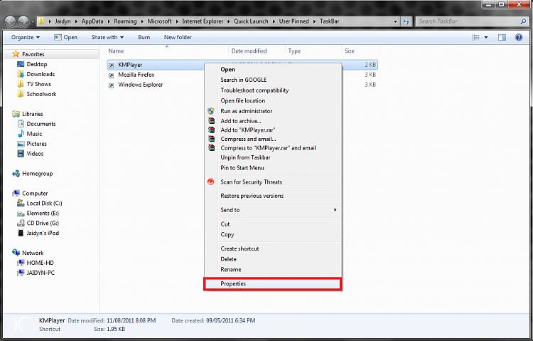 Taskbar Pinned Icons - Change-screenshotstep4.png