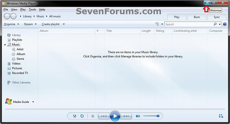 Windows Media Player 12 - Enable Taskbar Toolbar-wmp12.jpg
