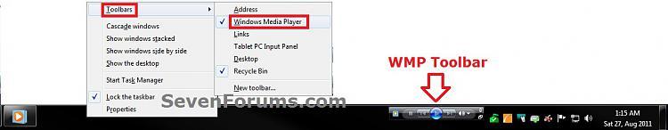 Windows Media Player 12 - Enable Taskbar Toolbar-taskbar.jpg