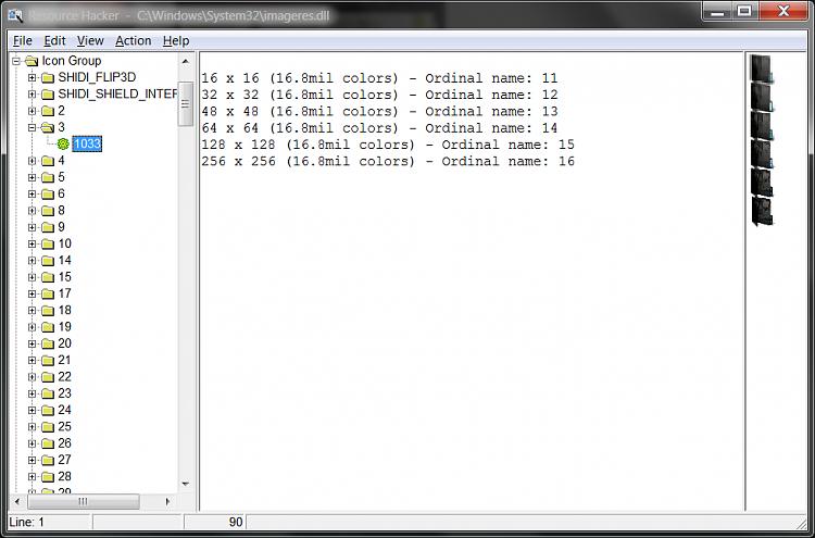 Folder Icon - Change Default Icon-scrnprnt-resource-hacker.png